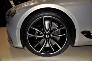 Bentley Continental GT Front Wheel, Malaysia 2018