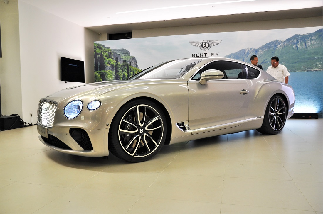 The Bentley Continental Gt Lands In Malaysia Autoworld