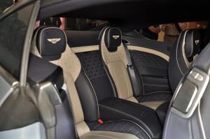 Bentley Continental GT Rear Seats, Malaysia Launch 2018