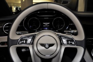 Bentley Continental GT Steering Wheel, Instrument Panel, Malaysia 2018