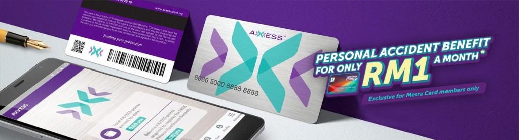 Petronas Mesra PA Plan, AXXESS Card