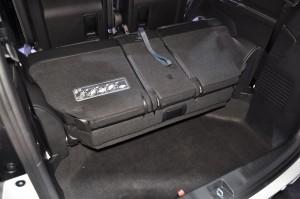 Honda Odyssey 2018 3rd Row Seats Folded, Malaysia