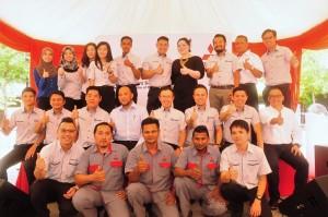 Management Team of Mitsubishi Motors Malaysia and Esperance Motors - Sungai Buloh, Selangor