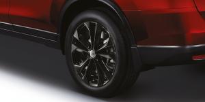 Nissan X-Trail X-Tremer Gloss Black 5-Spoke 17-inch Alloy Wheels Malaysia 2018