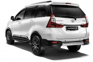 Toyota Avanza 1.5X Rear View - Malaysia