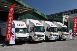 Hino 300 Series, Hino 500 Series Trucks, 1 Million Kilometres Mileage, GD Express Malaysia