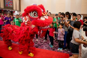 Grab Malaysia Chinese New Year Open House Lion Dance 2018