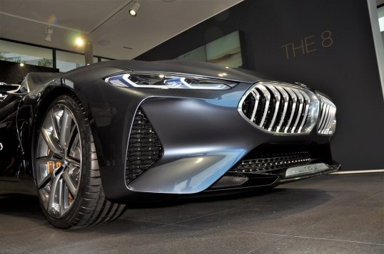 BMW Concept 8 Series On Display At The Kuala Lumpur BMW Luxury Excellence Pavilion
