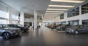 Mercedes-Benz NZ Wheels Klang Autohaus Showroom, Malaysia
