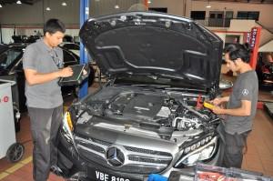 Mercedes-Benz NZ Wheels Klang Autohaus, Diagnostic Bay, Malaysia