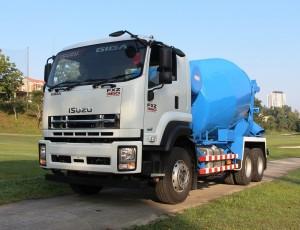 Isuzu GIGA FXZ360 Cement Mixer Truck Handover, Malaysia