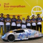 Team UiTM Eco-Sprint at the Shell Eco-marathon Asia 2017