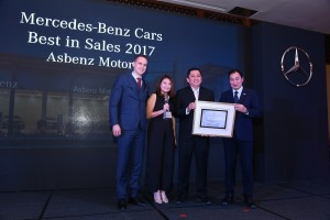 Best Performance in Sales - Asbenz Motors Sdn Bhd