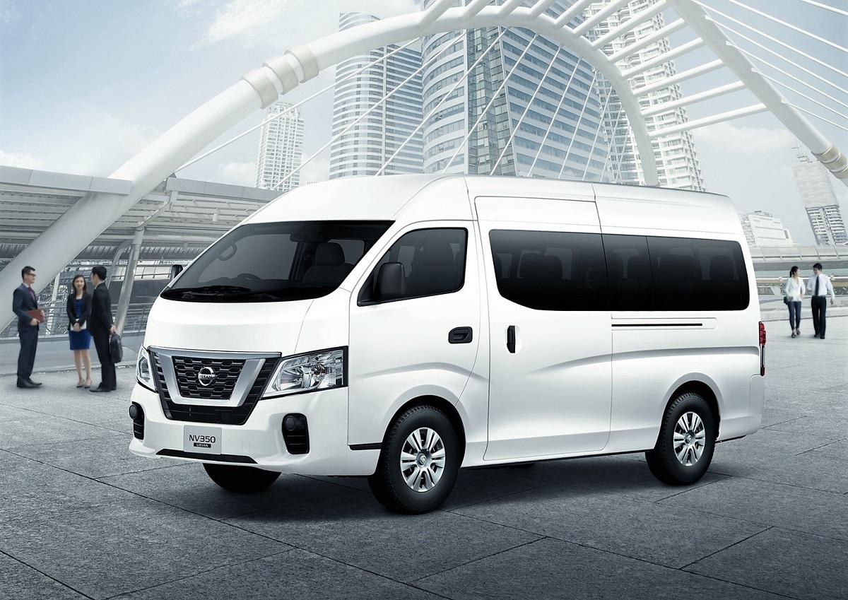 edaran tan chong motor introduces nissan nv350 urvan facelift rh autoworld com my Nissan Cargo Van Nissan NV200