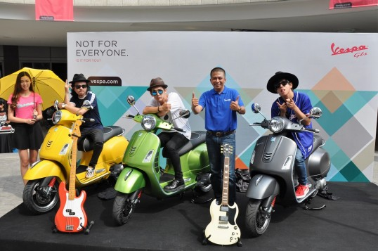 2018 Vespa GTS Super 300 Launched In Malaysia