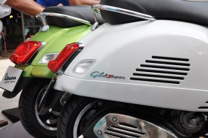 Vespa GTS Super 300 Rear, Malaysia
