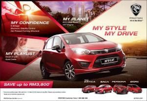 Proton Iriz - My Style My Drive Campaign, Malaysia