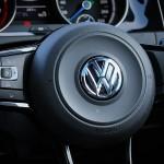 Volkswagen Golf Steering Wheel, VW Logo, Malaysia