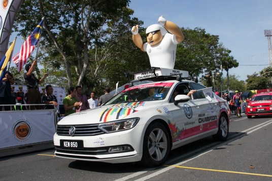 Volkswagen Supports Le Tour de Langkawi With Cars