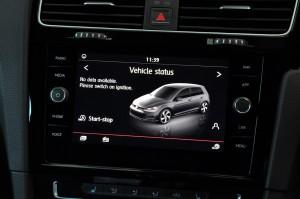 Volkswagen Golf GTI Discover Media Touchscreen, Malaysia