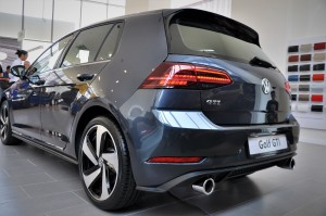 Volkswagen Golf GTI Rear View, Dual Exhaust, Malaysia