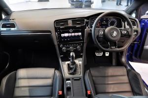 Volkswagen Golf R Dashboard, Malaysia 2018