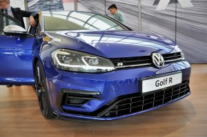 Volkswagen Golf R Front End, LED Headlamps, Malaysia
