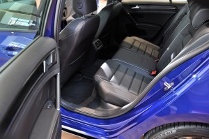 Volkswagen Golf R Rear Seats, Vienna Perforated Leather, Malaysia