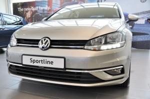 Volkswagen Golf TSI Sportline Front View, Malaysia 2018