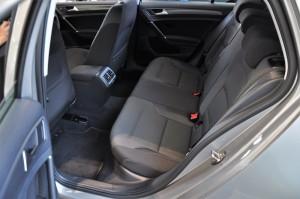 Volkswagen Golf TSI Sportline Rear Seats, Malaysia