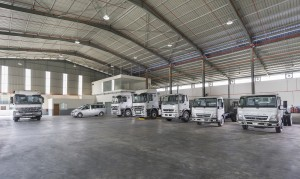 Cycle & Carriage Bintang Commercial Vehicle 3S Centre, Ipoh, Mercedes-Benz, FUSO Trucks Display