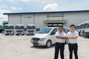 Cycle & Carriage Bintang Commercial Vehicle Centre 3S, Gopeng, Service Personnel, Mercedes-Benz, FUSO Trucks