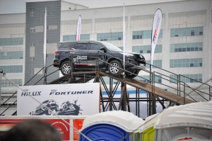 Toyota Gazoo Racing Festival, Fortuner Test Drive Ramp, Malaysia