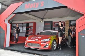 Toyota Gazoo Racing Festival,  Moty's, Malaysia 2018