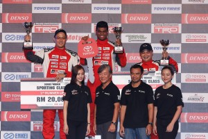 Toyota Gazoo Racing Festival Vios Challenge, overall champions- Sporting Class, Brendan Anthony
