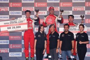 Toyota Gazoo Racing Vios Challenge Super Sporting Overall champion Tengku Djan, 2018