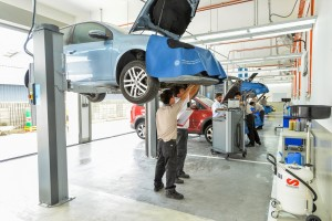 Volkswagen Aftersales Technicians - Service Bays, VW Malaysia
