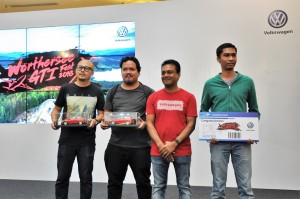 VPCM Worthersee Contest, Rick Moh, Ubaidah, Deenan Nadar, Syazwan, 1Utama