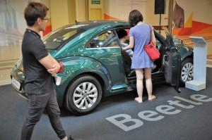 Volkswagen Beetle, VW Tour Malaysia, One Utama