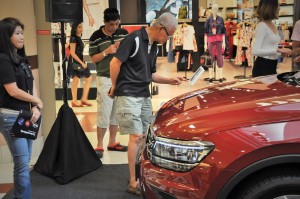 Volkswagen Tour, VW Roadshow Malaysia, Tiguan, One Utama Shopping Centre