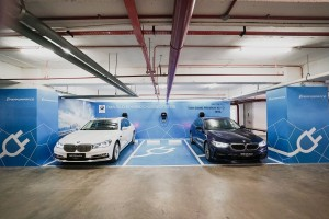 BMW i Charging Stations at WEIL Hotel Ipoh Malaysia, PHEV, EV