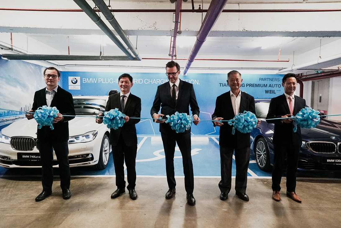 BMW Group Malaysia Sets Up Three Charging Stations In WEIL