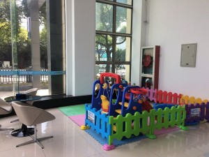 Geely Dealer Outlet, Shanghai, Children's Play Area, Proton Dealers Visit 2018