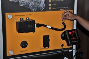 Continental ContiConnect Tire Monitoring System Components, Malaysia
