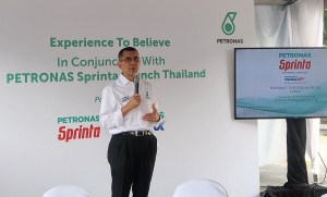 PETRONAS Sprinta With Ultraflex Thailand Launch, Vice President of Downstream Marketing, Dato' Sri Syed Zainal Abidin Syed Mohd Tahir, Phuket Bike Week 2018 Convoy, Malaysia