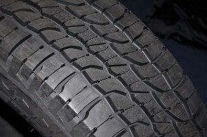 Michelin LTX Force All-Terrain Tyre Close Up, Malaysia