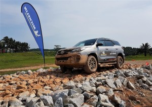 Michelin LTX Force All-Terrain Tyre Off Road Course, Malaysia