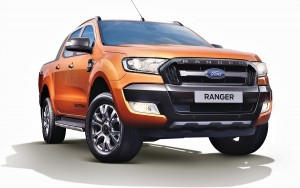 Ford Ranger 2.2L Wildtrak Front View - Malaysia