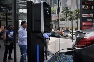 Mercedes-Benz EQ Power Launch, Pavilion Kuala Lumpur