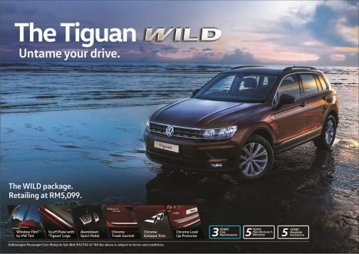 Go Wild With The Volkswagen Tiguan